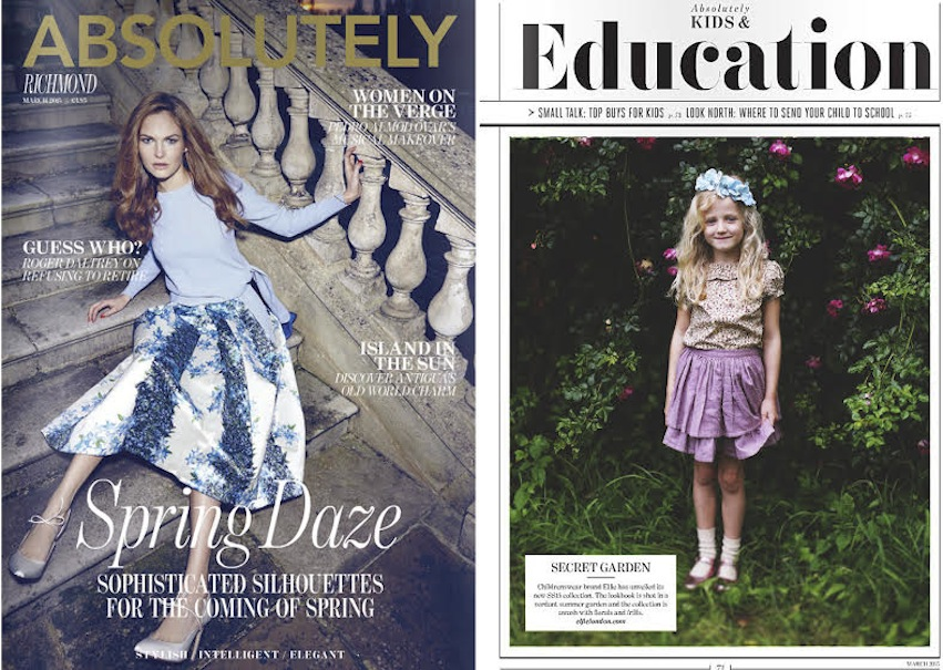 Absolutely Magazine - Kids & Education section